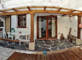 Piso con patio exterior cerca de la playa de Cedeira